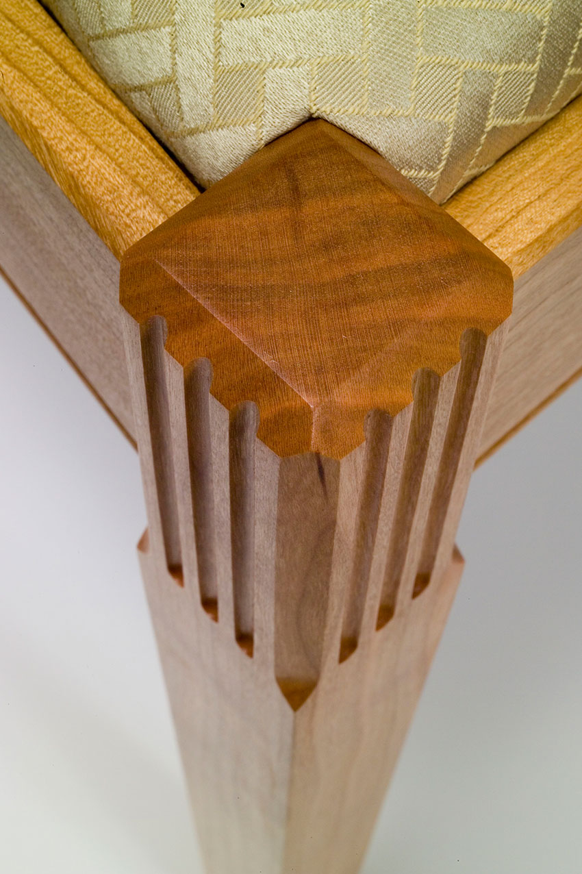 dining chair leg detail