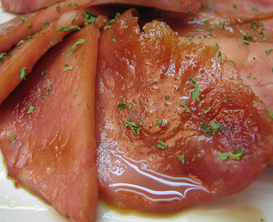 brown sugar glazed ham