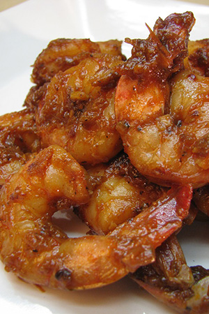 Mexican smoky chipotle shrimp