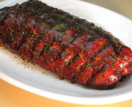 hickory smoked pork ribs