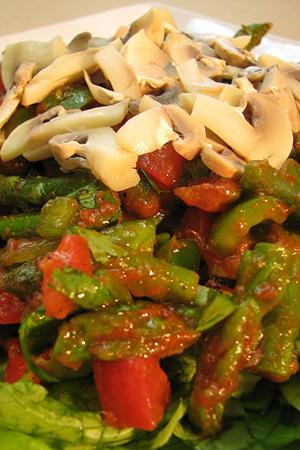 Hungarian Gundel salad