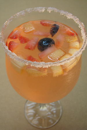 Mexican white wine sangria