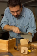 hand-cut dovetails