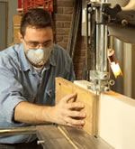 resawing on bandsaw