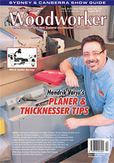 The Australian Woodworker - August 2013