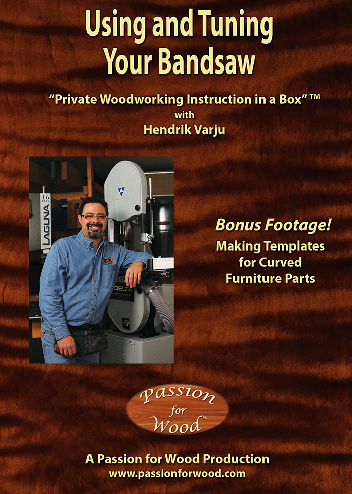 Using and Tuning Your Bandsaw - Dvd Cover