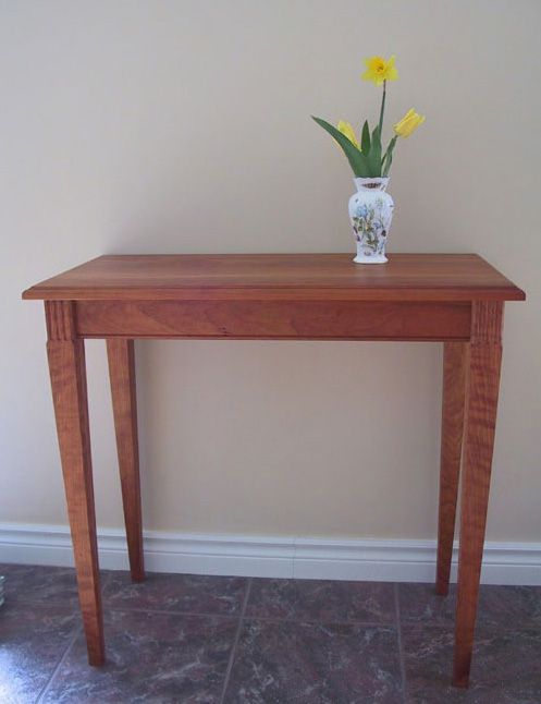 black cherry side table