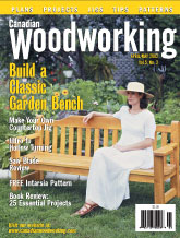 Canadian Woodworking - April/May 2002