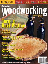 Canadian Woodworking - August/September 2002