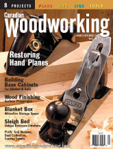 Canadian Woodworking - August/September 2003