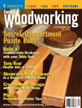 Canadian Woodworking - December/January 2003