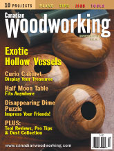 Canadian Woodworking - February/March 2003