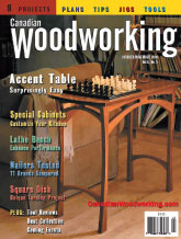 Canadian Woodworking - October/November 2003