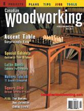 Canadian Woodworking - October/November 2003