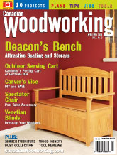 Canadian Woodworking - April/May 2004