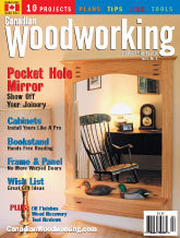 Canadian Woodworking - December/January 2004