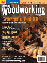 Canadian Woodworking - June/July 2004