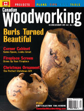 Canadian Woodworking - December/January 2005
