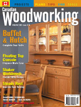 Canadian Woodworking - June/July 2005
