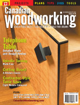 Canadian Woodworking - December/January 2006