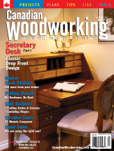 Canadian Woodworking - April/May 2007