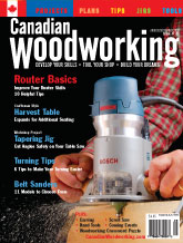 Canadian Woodworking - August/September 2007