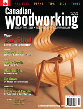 Canadian Woodworking - June/July 2007