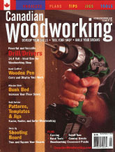 Canadian Woodworking - October/November 2007