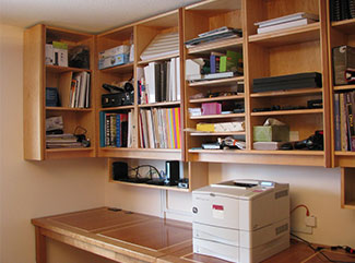Cherry and Maple Home Office Suite