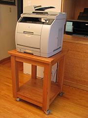 Cherry Printer Stand