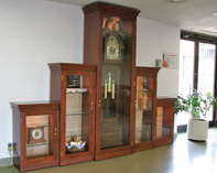Oak Display Cases