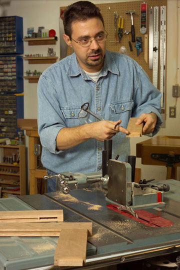 cutting tenons on table saw
