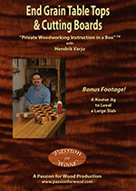 End Grain Table Tops & Cutting Boards - DVD
