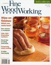 Fine Woodworking - August 2005