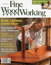Fine Woodworking - October 2007