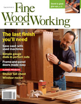 Fine Woodworking - April 2011