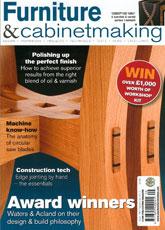 Furniture & Cabinetmaking - September 2012