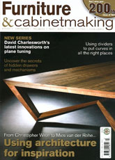 Furniture & Cabinetmaking - Winter 2012