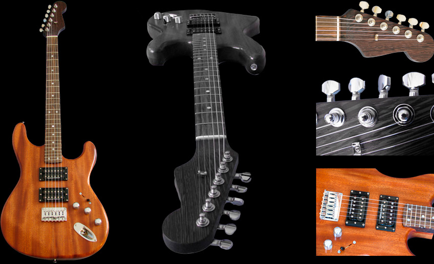 Custom Solid Body Electric Guitar