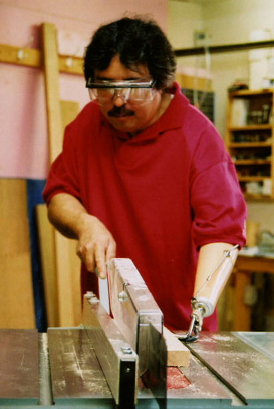 ripping on table saw