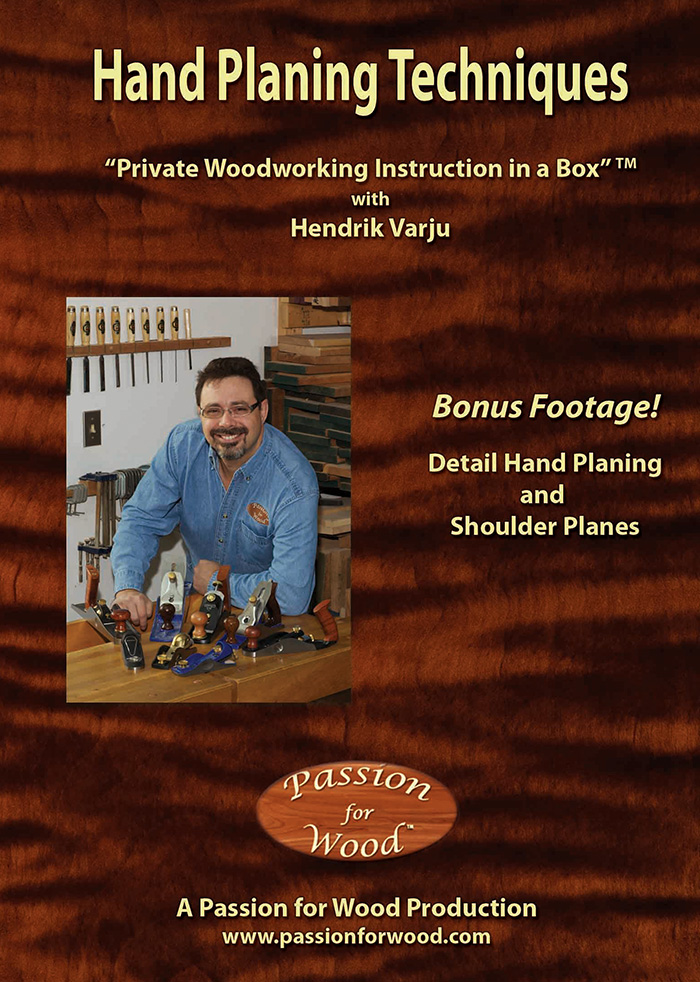 Hand Planing Techniques - Dvd Cover