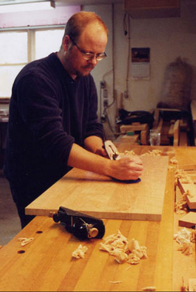 hand planing table top