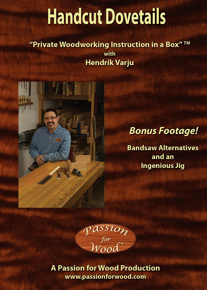 Handcut Dovetails - Dvd Cover