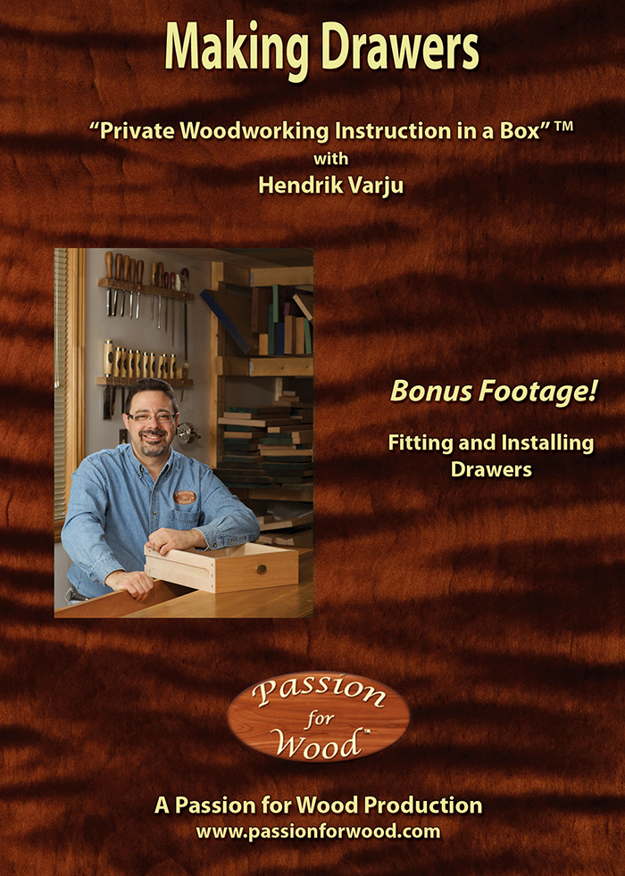 Making Drawers- Dvd Cover