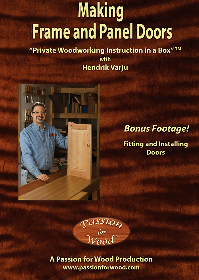Making Frame and Panel Doors - Dvd Cover