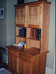 Matching Credenza with Hutches