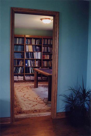 3 Bookcase Wall Unit