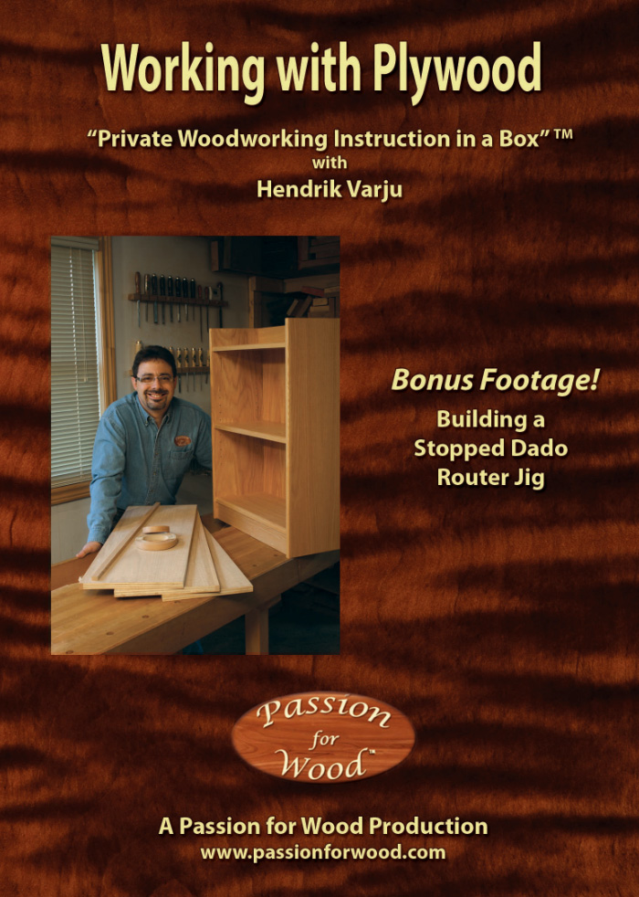 Working with Plywood - Dvd Cover