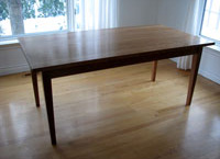 Black Cherry Shaker Table