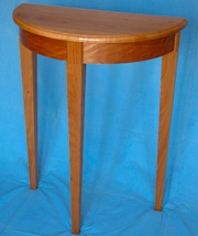 Tapered Leg Hall Table